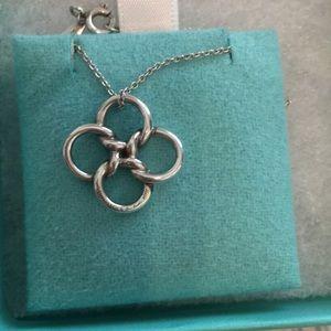Tiffany & Co. Jewelry - Tiffany Quadrifoglio Necklace Sterling Silver